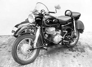1959 MZ ES250 saw plenty of hard use, including work as a tug
