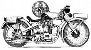 Neander 500K motorcycle was an unusual looking machine aimed at the sporting rider