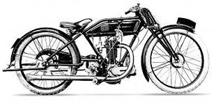 Jack Porter was a successful rider motorcycle manufacturer with sporting machine slike this Blackburne-powered TT model