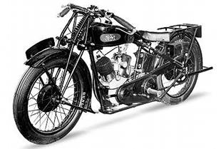 V-twin JAP engine power was relied upon for New Henley's bigger motorcycles, like this 1930 season model