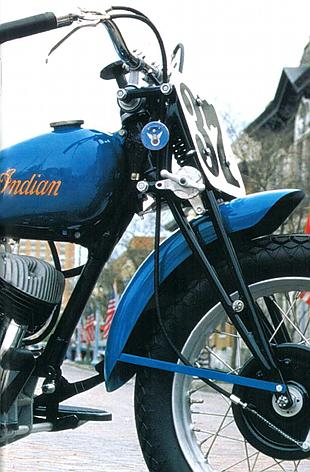 Indian Scout Daytona classic American motorcycle