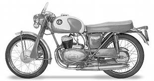 In the early Sixties, Norman Motorcycles sporty range topper was the B4 Sports, with Itlian inspired styling