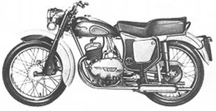 1961 Norman B4 250cc classic motorcycle