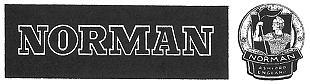 Norman motorcycle logo