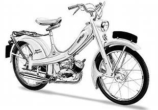 50cc Norman Nippy which used Sachs and later Villiers engine. This model dates from 1959