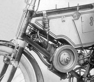 Original 1903 Clement-engined Norton motorcycle
