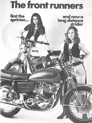 Norton Commando advertisement