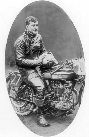 Graham Walker enjoyed success on Norton's fledgling ohv racer, the Model 18, in the early Twenties