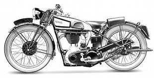 Road going cammy Norton models were the machine of choice for many sporting riders in the Thirties