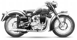 Handsome Ollearo 500cc classic motorcycle from 1946