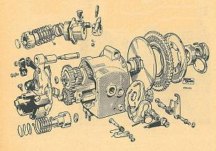 Velocette classic motorcycle service notes from fifties
