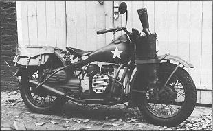 Classic Harley-Davidson motorcycle