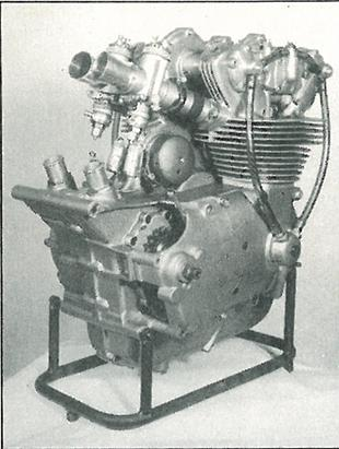 Desmo engine for Mike Hailwood