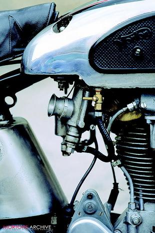 Norton Internatiional Model 30 classic motorcycle