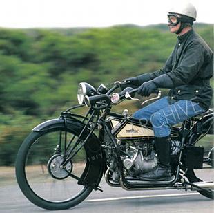 Gnome et Rhone motorcycle