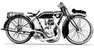 Orbit classic motorcycle with Bradshaw engine