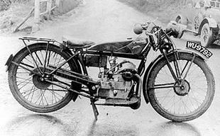 Granville Bradshaw designed 250cc Panthette for the 1927 season