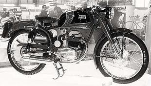 By the mid Fifties Parilla were producing lightweight motorcycles which looked just as stylish as Italian offerings