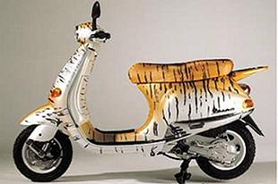 Piaggio scooters have always been a style statement