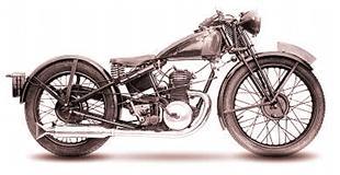 Pouncy two stroke motorcycles