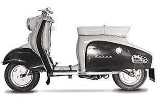Prior scooter was a joint venture between British and Germany industry