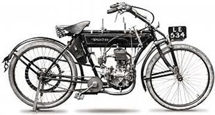 1912 2hp Puch offering with simple side-valve engine unit