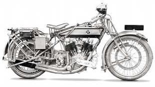 JAP v-twin engines also found their way into PV motorcycle frames