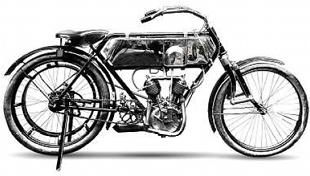 ReneGillet v-twin classic motorcycle from 1910