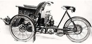 1904 353cc Raleighette tandem, with water cooling