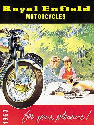 1963 Royal Enfield advertisement