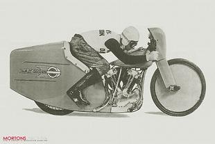 Harley-Davidson speed record attempt