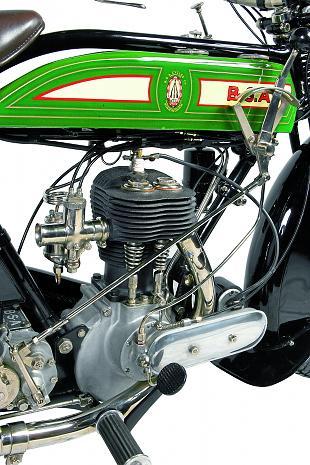 BSA S26 classic motorcycle restoration