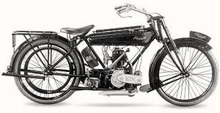 Raleigh 348cc classic motorcycle