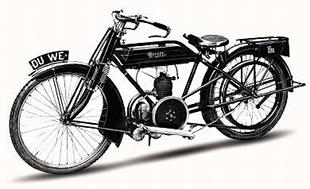 Villiers-powered Revere classic motorcycle