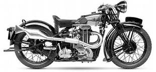 1932 Rex-Acme classic motorcycle with JAP engine