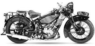 Reynolds-Special Scott classic motorcycle