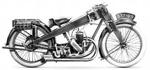 1928 version of CP Roleo motorcycle boasts a Staub engine