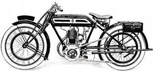 1919 TT Model Rover motorcycle still retained direct drive