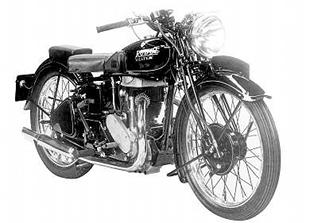 1939 Rudge Ulster motorcycle