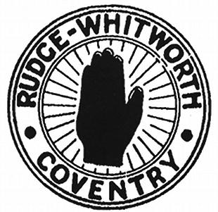 Rudge Whitworth classic motorcyc le logo