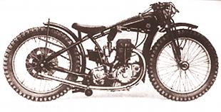 Rudge dirt track classic motorcycle