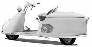 Salsburt Model 85 scooter