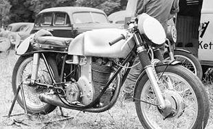 1952 350 Schnell-developed dohc Horex racing motorcycle
