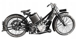 Sporting Scott 1921 Squirrel motorcycle, capable of 60mph