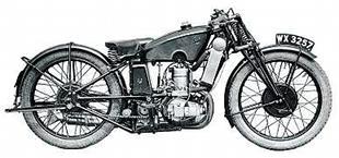 Harry Shackleton-designed 1930 TT Scott motorcycle