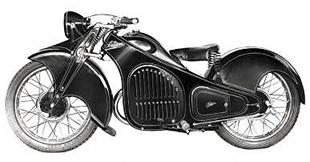 Italian-made 1934 250cc Sertrum motorcycle