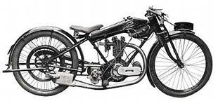 Sheffield Henderson motorcycle. Engine supplied by Blackburne