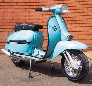 Indian-made SIL is a Lambretta scooter clone