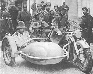 BMW military motorcycle