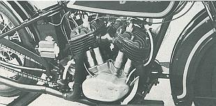 Harley-Davidson sidevalve motorcycle engine